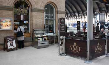 AMT coffee york train station