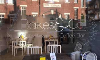 Bakes and co coffee shop york