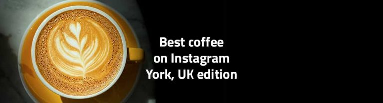 best coffee of instagram york uk