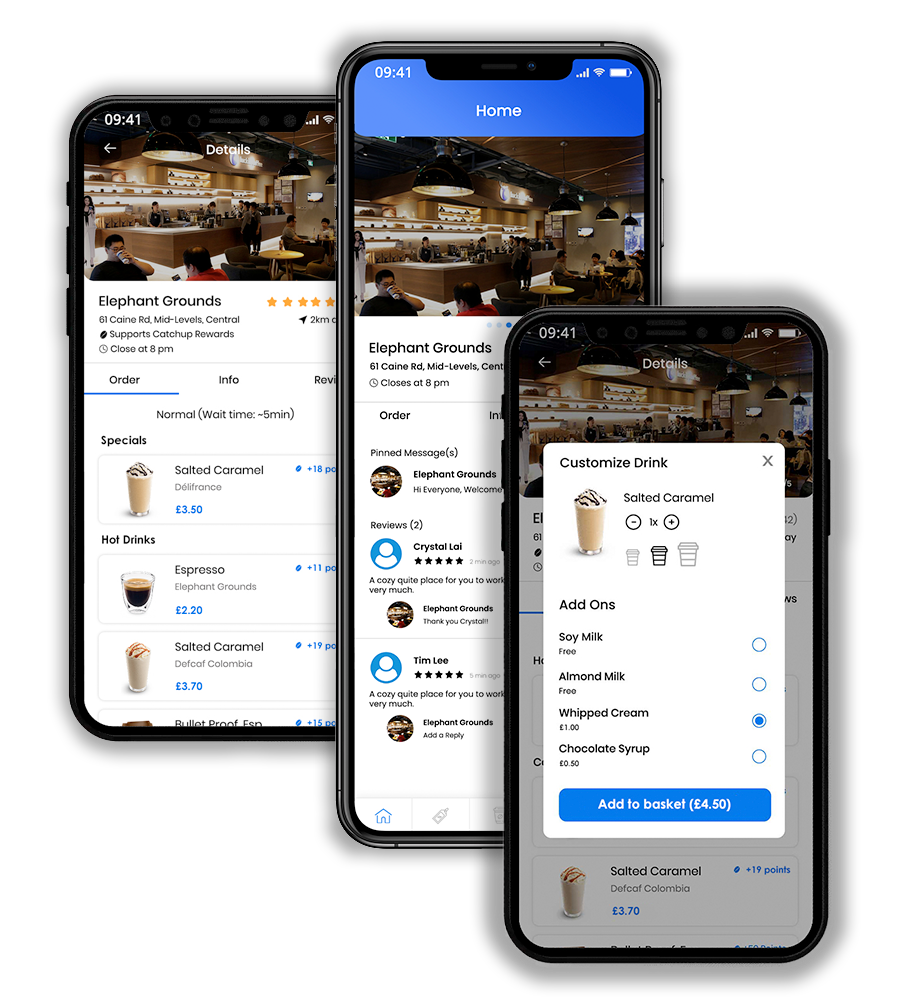 coffee shop app to get more customers